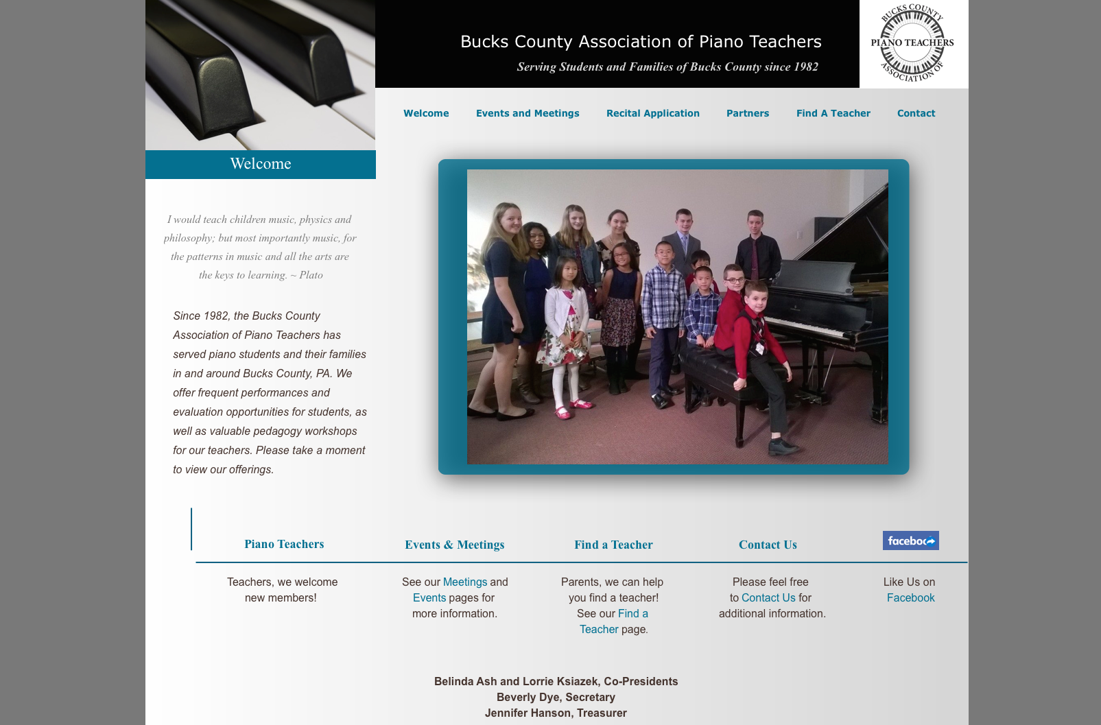 Bucks County Piano Teachers